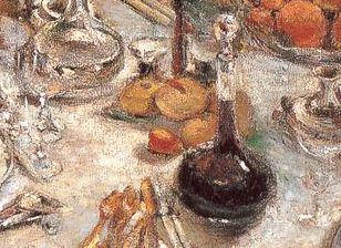 デキャンタのワイン