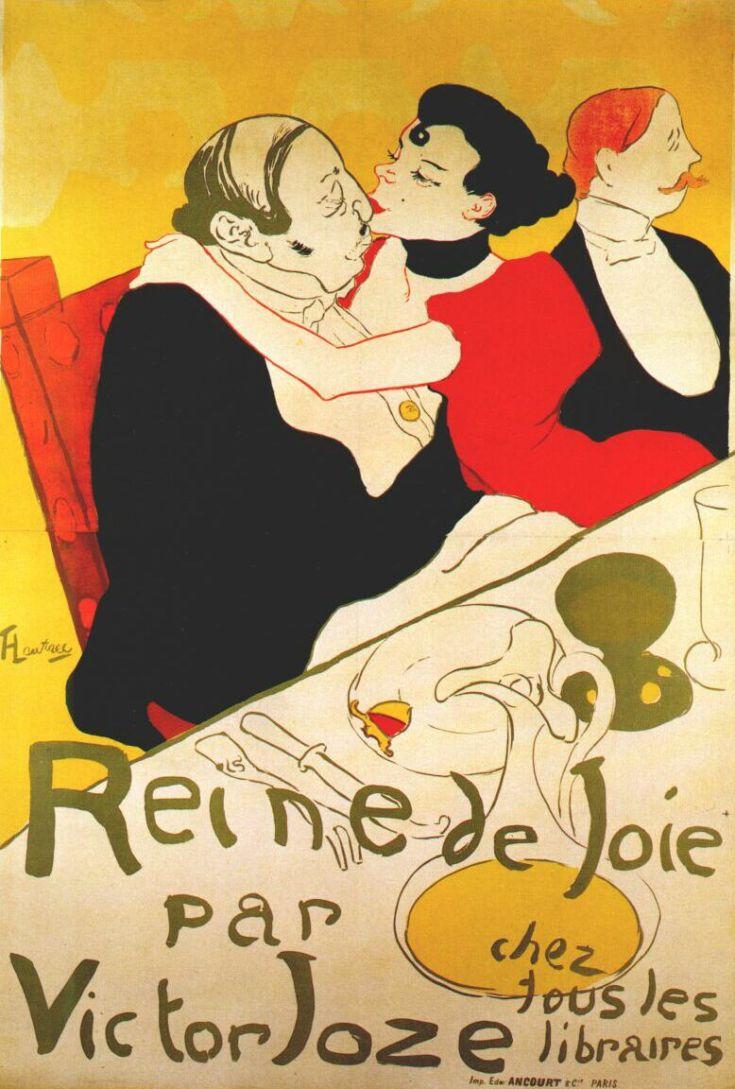 Lautrec_reine_de_joie_(poster)_1892