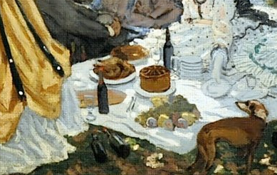 monet lunch
