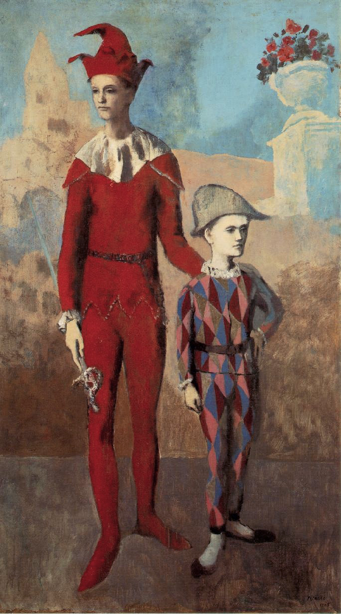 Pablo_Picasso,_1905,_Acrobate_et_jeune_Arlequin_(Acrobat_and_Young_Harlequin),_oil_on_canvas,_191.1_x_108.6_cm,_The_Barnes_Foundation,_Philadelphia.jpg