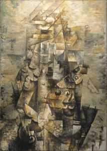 Man with a guitar 1911 / Braque